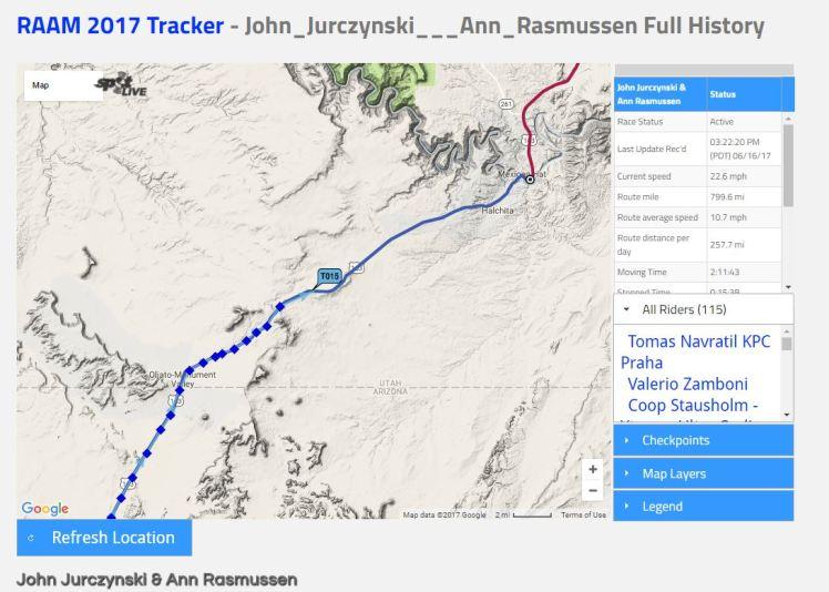 JandA tracker 7
